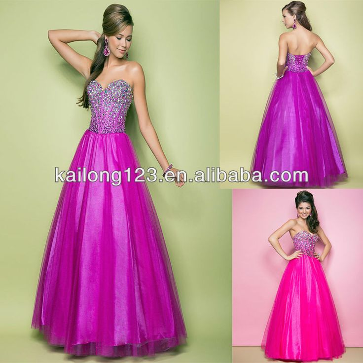 Image from http://i00.i.aliimg.com/wsphoto/v0/851782716_1/Powerful-Sweetheart-Full-Ball-Gown-Skirt-Magenta-Hot-Pink-Jeweled-Stones-Piped-Bodice-Tulle-Lace-Up.jpg.