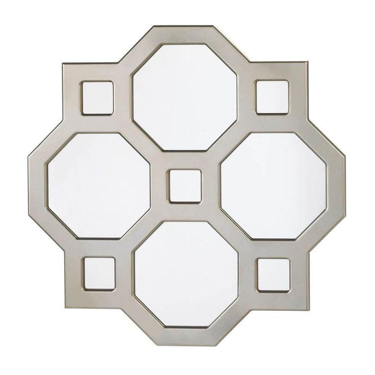 Geometric Decorative Wall Mirror
