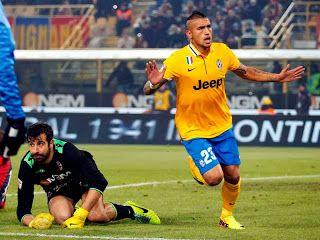 Hasil Pertandingan Liga Italia Bologna Vs Juventus,Vidal Cetak 1 Gol