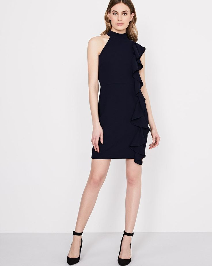 RW&CO. | Fitted halter dress by Adelyn rae | Spring 2018