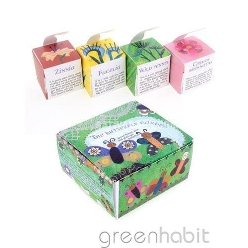 El jardín de las mariposas Pack semillas - 8€