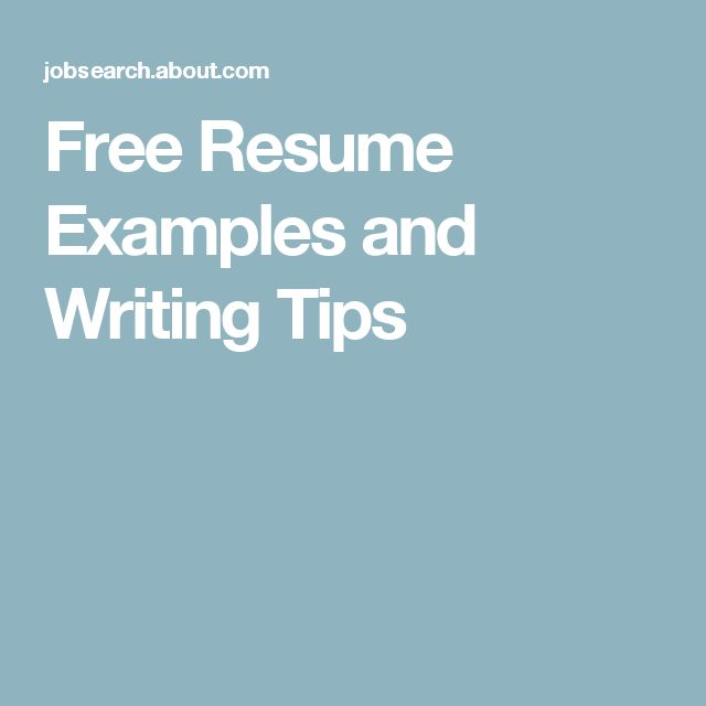 100 free professional resume examples free cover letter - Free Cover Letter Examples For Resume