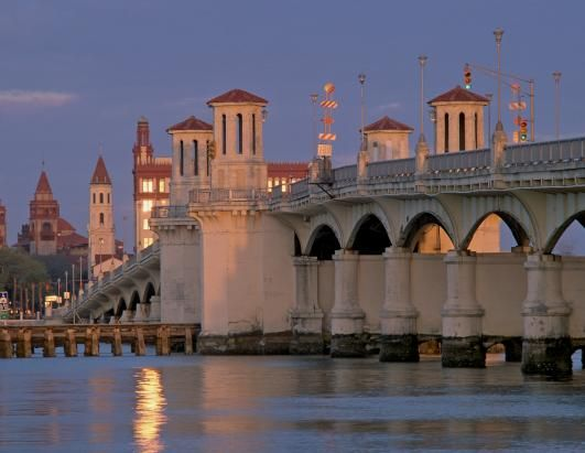 ★Bridge of Lions ~ St  Augustine FL ~ ahh the luxury of it.  Connects the mainland to Anastasia Island and the Beaches-A1A Realty Associates