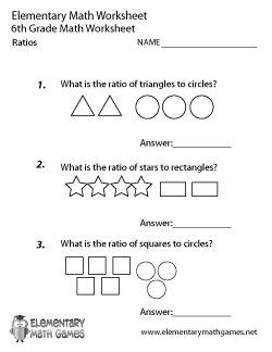 Ratio Worksheets | Ratio Worksheets for Teachers