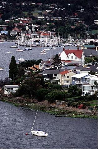 Day 3:  [early evening] Battery Point, Hobart, Tasmania, Australia