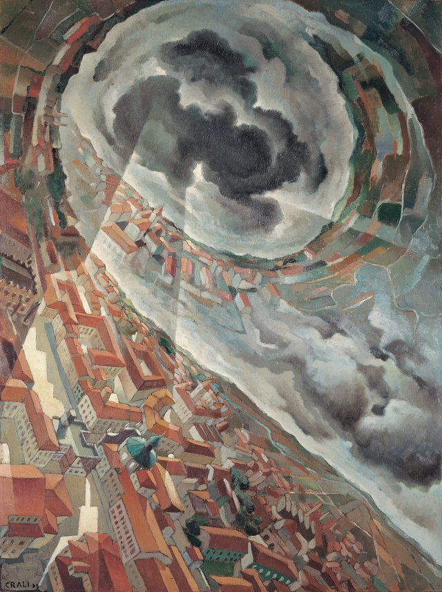 Vite orizzontali, 1938 - Tullio Crali