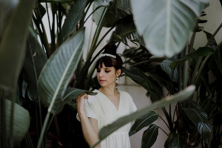 Italian bride | Greenhouse Wedding Inspiration in Florence, Italy
