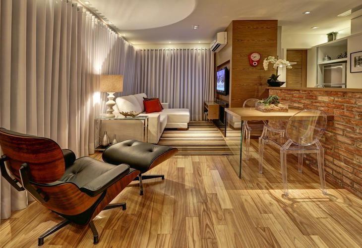 17 melhores imagens sobre ideias para a casa no pinterest for Sala de 9 metros quadrados