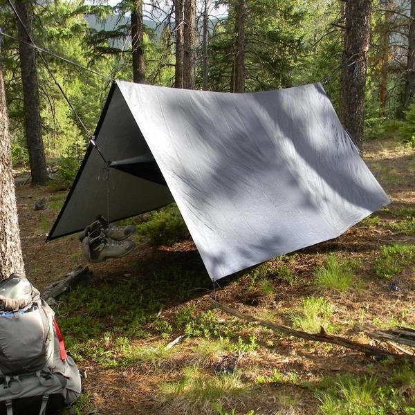 Turn your hammock into a hammock tent with this hammock rain fly & tarp. Lightweight, waterproof, quiet & strong. Start hammock camping now. Lifetime Warranty!