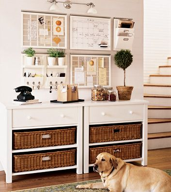A beautifully organized entryway!