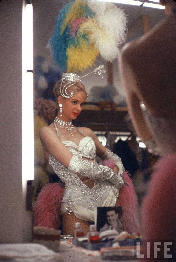 1950s Bluebell girl Stardust Hotel in Vegas