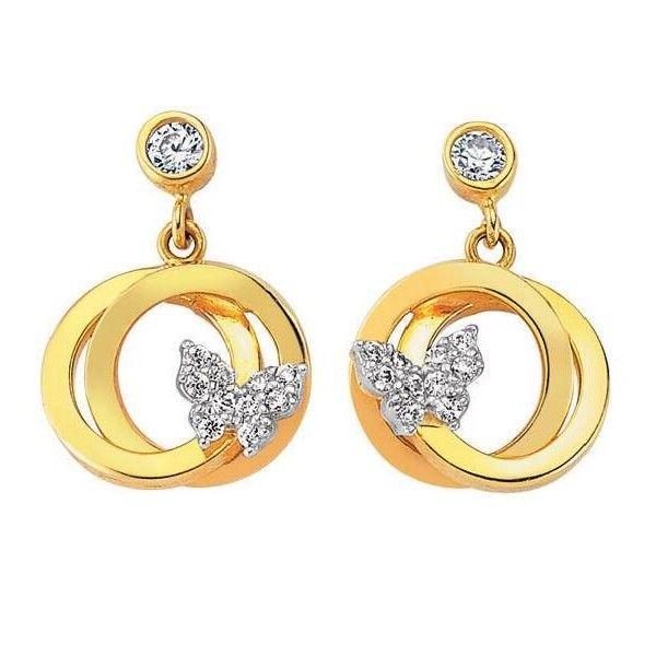 We'll show you a few gold earrings models here you'll like. Gold earring designs, beautiful gold earrings, gold earrings models in this photo gallery.