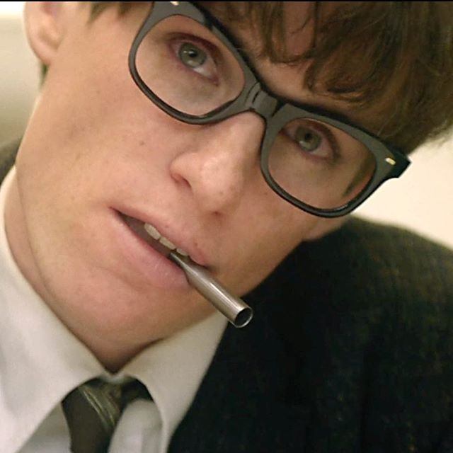 #EddieRedmayne: Making nerdy a turn-on since 2014. #TheTheoryofEverything