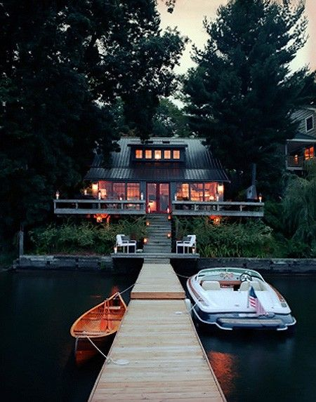 A house on the lake... dream!