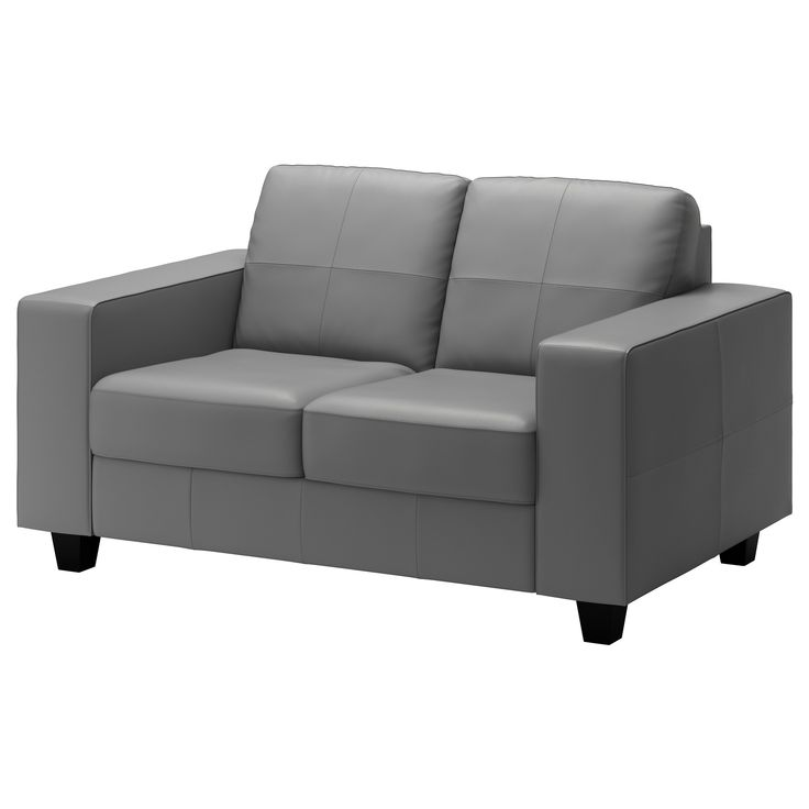 Modern Sofa KIVIK Sofa Grann Bomstad dark brown Seat cushions Leather sofas and Room
