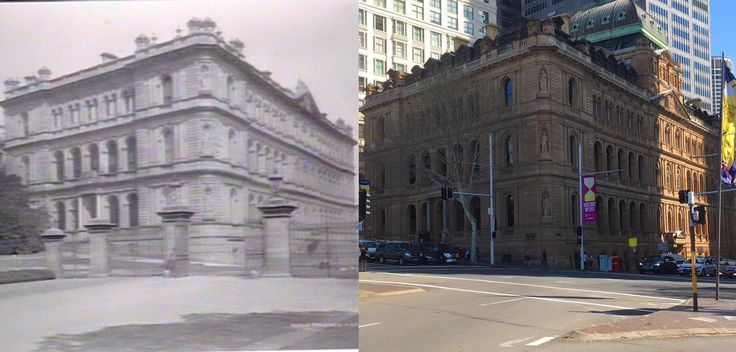 The Colonial Secretary's Building, corner of Macquarie and Bridge Streets, Sydney c1890 > 2016. [State Library of NSW > Phil Harvey. By Phil Harvey]
