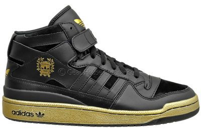 outlet store e582c 54f62 73f57 122aa canada adidas originals forum mid mens shoes black leather  suede w gold trim 91be6 cd4a7