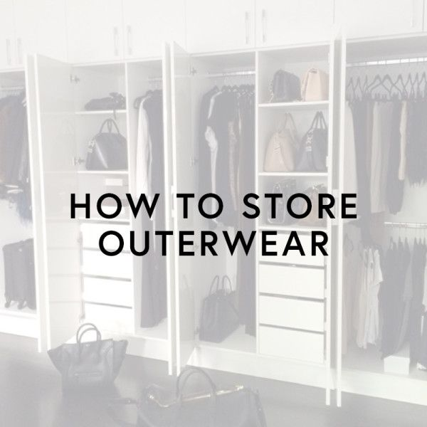 How to organize your winter coats