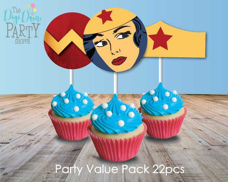 SuperHeroine/Superhero Girl Party Pack