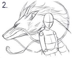 spirited away dragon drawing – Google Search