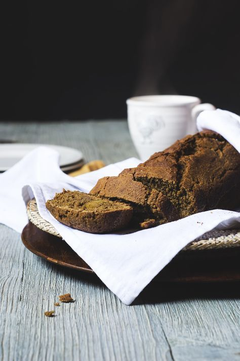 groninger koek (Dutch rye gingerbread)- a traditional recipe that just happens to be fat and dairy free   gnom-gnom.com