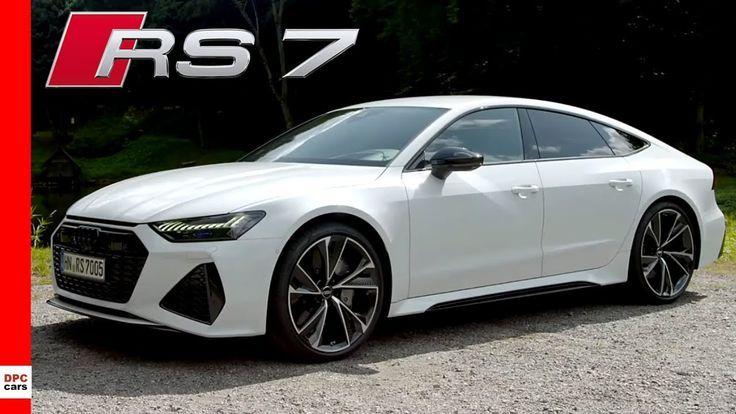 2020 Audi Rs7 Sportback Glacier White Glacier Sportback White New Klassische Autos Autos Klassisch