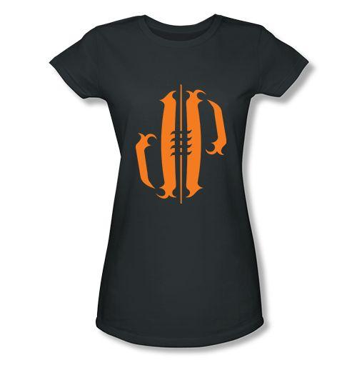 Athlete Originals | Original Designs by Jordan Poyer. Orange Tattoo Football womens t-shirt in charcoal #Cleveland #Browns #NFL #FootballSeason #Tailgate