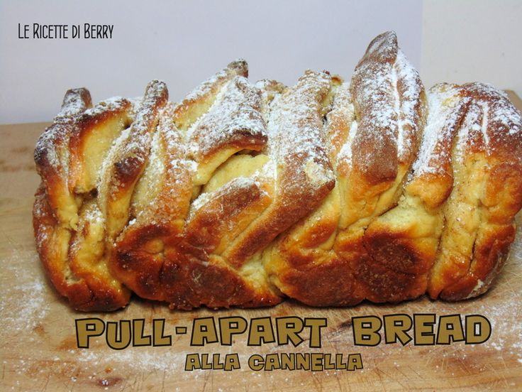 Pull-Apart Bread alla Cannella - Senza Burro e Uova