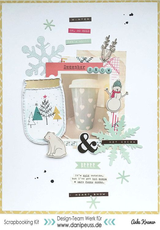 Snow and hot cocoa by AnkeKramer at @studio_calico