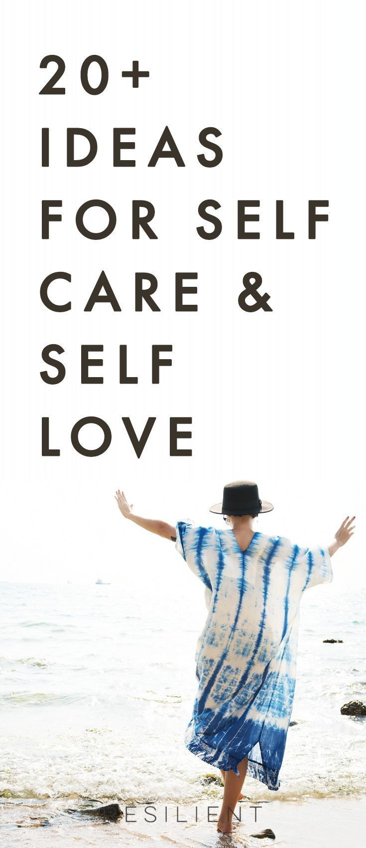 When it comes down to it, self care and self love aren't selfish - they're actually an essential part of living a happy and healthy life. Here are over 20 ideas for self care and self love that will help you improve your relationship with yourself. #selfcare