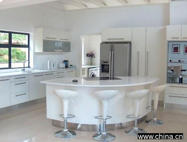 High gloss kitchen cabinets high gloss white spray for White gloss kitchen units cheap