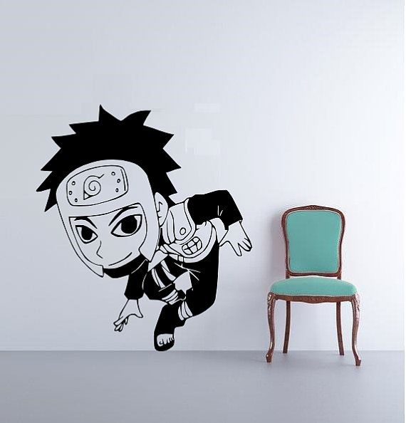 Cool wall decals yamato decal from nurato vinyl decal cool anime vinyl decals for wall