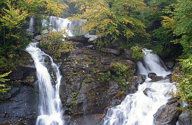 Bastion Falls Hunter NY VISITvortex Hudson Valley
