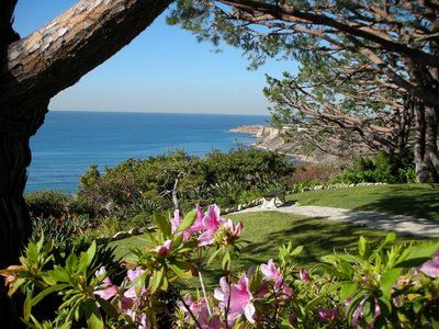 My wedding location: Wayfarers Chapel, Palos Verdes, California. The most surreal, romantic place one can think of!