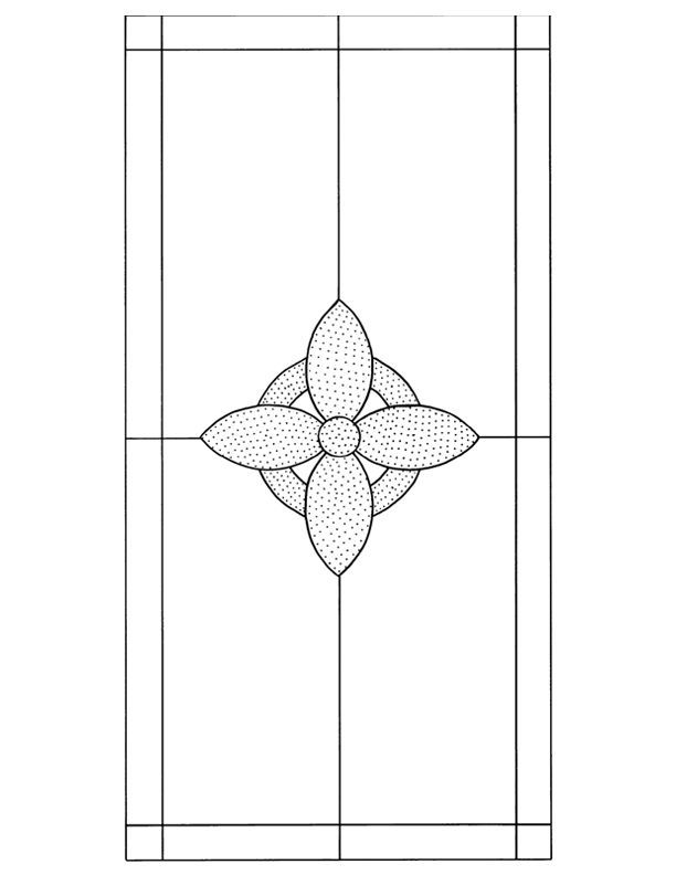 ★ Stained Glass Patterns for FREE ★ glass pattern 103 ★