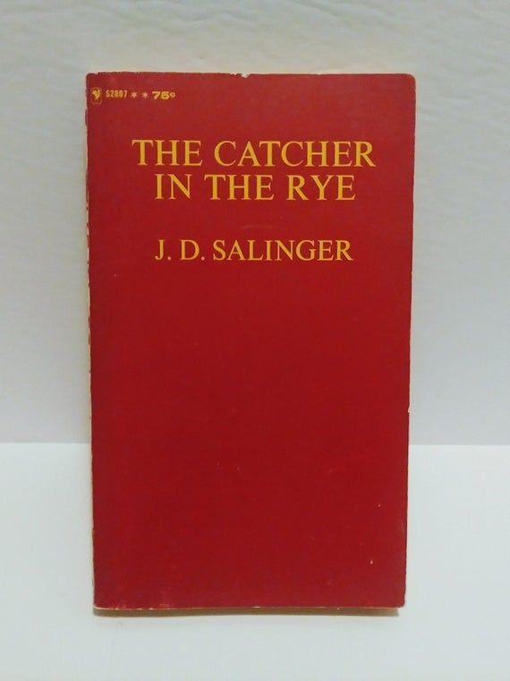 The Catcher In The Rye J D Salinger Holden Caulfield Banned Book English Literature 1981 Bantam Books Catcher In The Rye Books Paperback Books