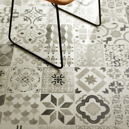 Antique Style Gustavian 02 Cushioned Vinyl Flooring Roll | Best4flooring UK