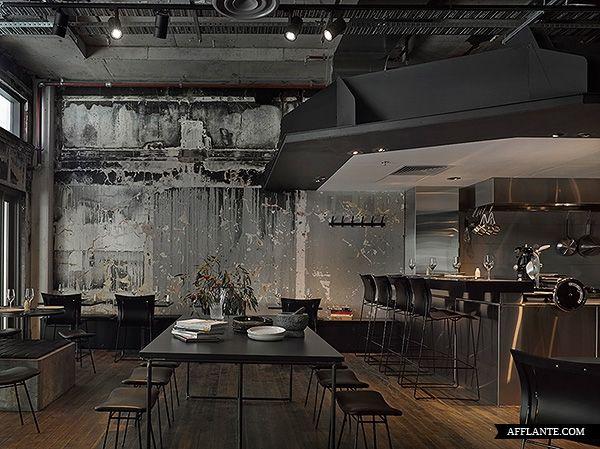 A.BAKER Restaurant Interior // DesignOffice | Afflante.com