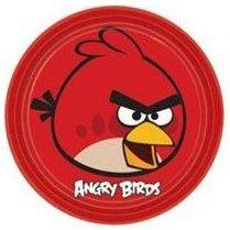Platos de papel Angry Birds 23cm - El Dulce de Pau #cumpleañosangrybirds #angrybirds #platosangrybirds #fiestaangrybirds