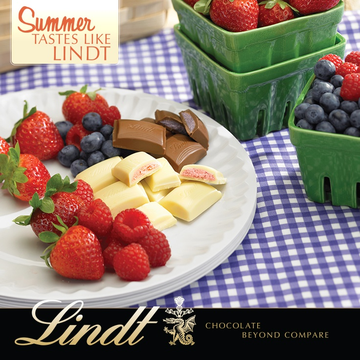 Picnic perfection! Discover our NEW-for-summer chillable chocolate delights and fruit flavor infusions, exclusively at Lindt Chocolate Shops and online.