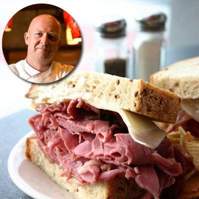 Top Chef Stefan Richter S Pastrami On Rye Corned Beef