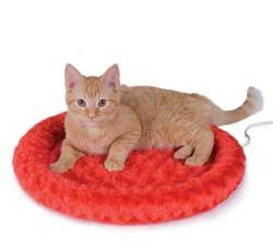Thermo Kitty Fashion Splash - Some cool cats are just too hip for a regular bed. That's why we introduced the new Thermo-Kitty Fashion Splash! With 4 happening colors and our incredibly energy efficient 4 watt heater, this bed is sure to please.