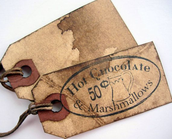 Rustic Tags