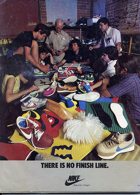 Cool Nike Ad from 1979 by .3stripe, via Flickr