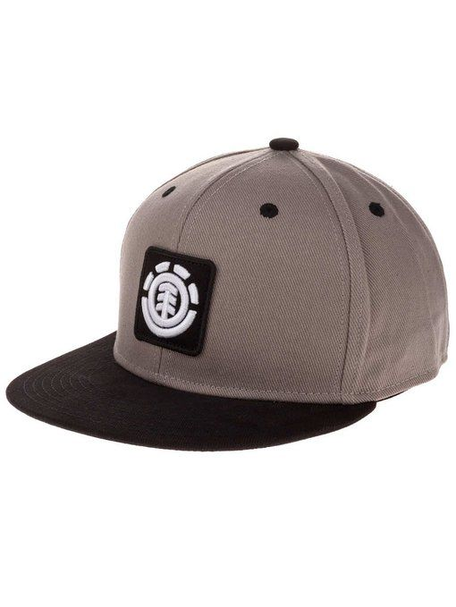 Casquette Visière Plate Flexfit Element Fenwick Gris Heather (S/M , Gris)
