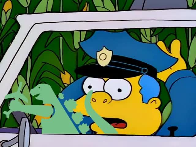 Don't Make Me Angry #EverySimpsonsEver