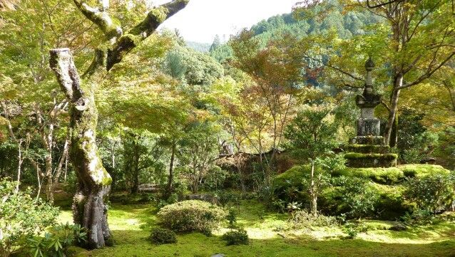 西明寺お庭