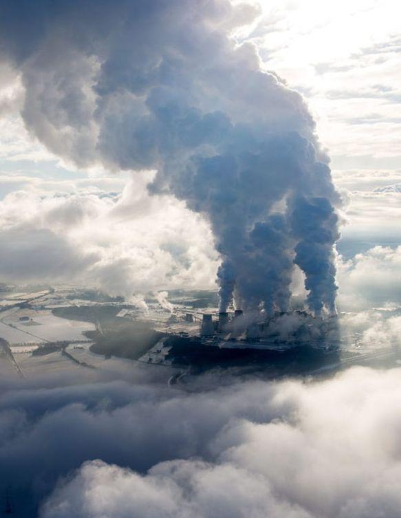Widok na elektrownię w Janschwalde, w Niemczech. http://www.tvn24.pl/zdjecia/zdjecie-dnia,46897,lista.html
