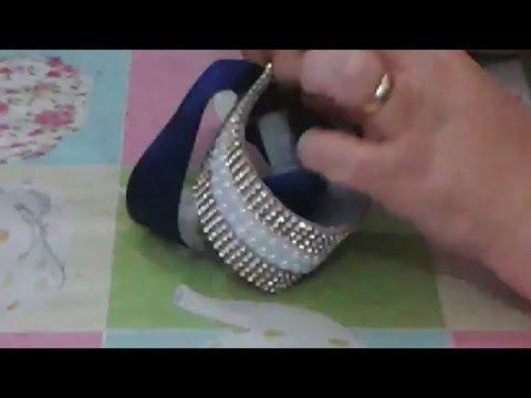 Porta coque de bailarina,noivas e daminhas ,strass e pèrolas - YouTube