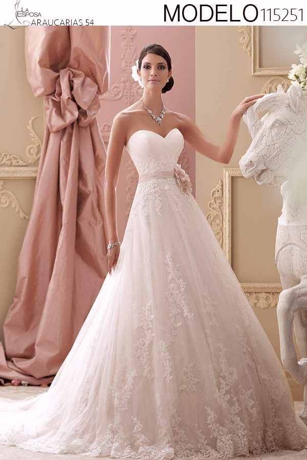 121 best Vestidos de Novia images on Pinterest | Wedding frocks ...